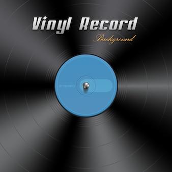 Fundo de disco de vinil