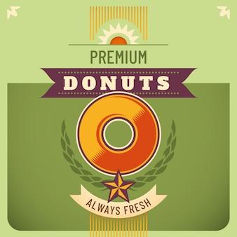 Fundo de donuts