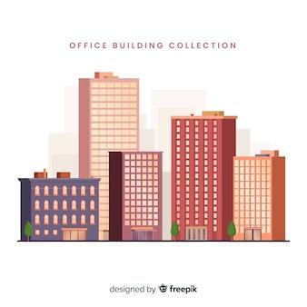 Fundo de edifício de escritório moderno