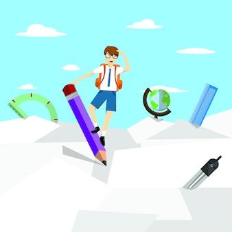 Fundo de educação abstrata