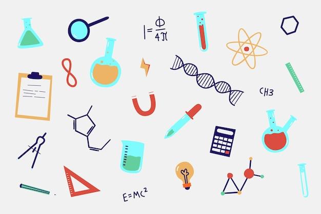Fundo de educação design colorido