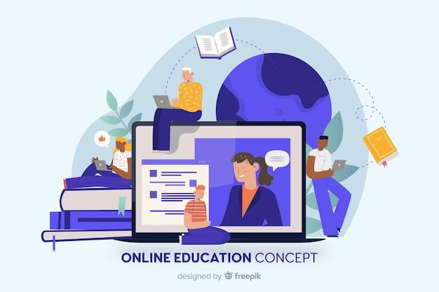 Fundo de educação on-line