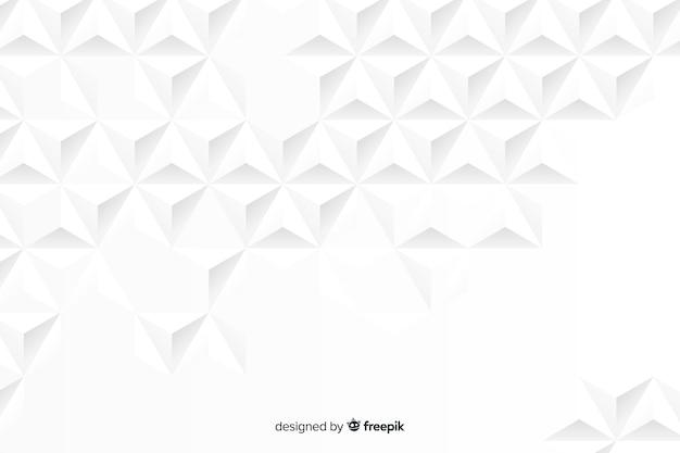 Fundo de efeito 3d de papel