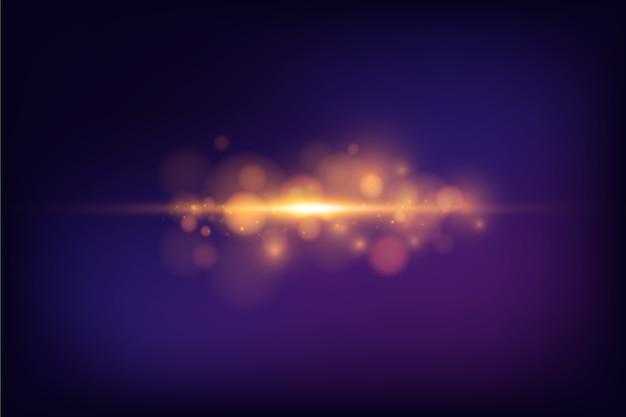 Fundo de efeito bokeh abstrato luzes