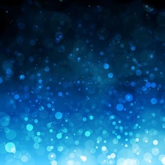 Fundo de efeito de iluminação azul