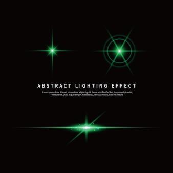 Fundo de efeito de iluminação simples