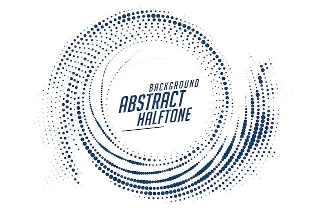 Fundo de efeito de meio-tom circular de redemoinho abstrato