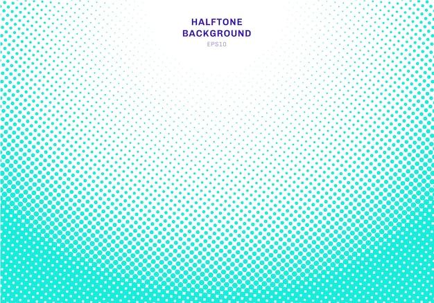 Fundo de efeito radial de meio-tom azul claro abstrato