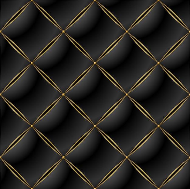 Fundo de elegante padrão acolchoado