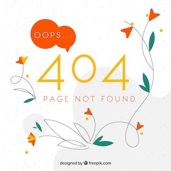 Fundo de erro 404 criativo