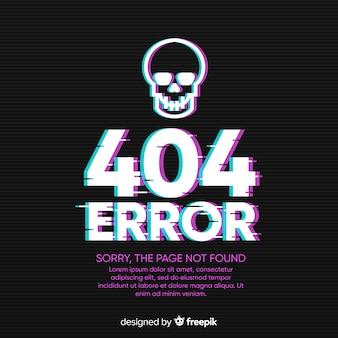 Fundo de erro 404