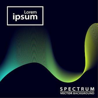 Fundo de espectro