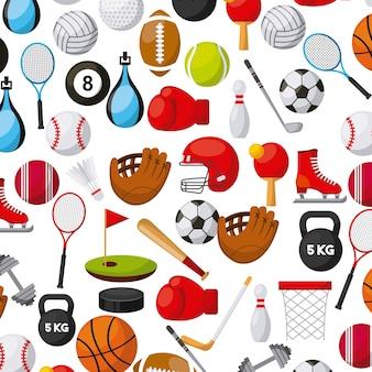 Fundo de esportes
