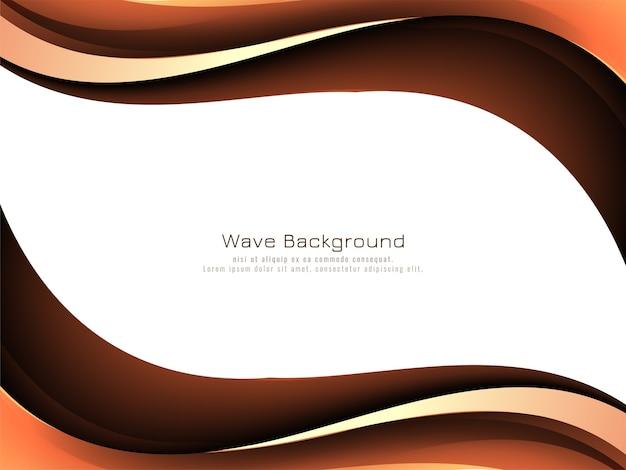 Fundo de estilo abstrato de onda