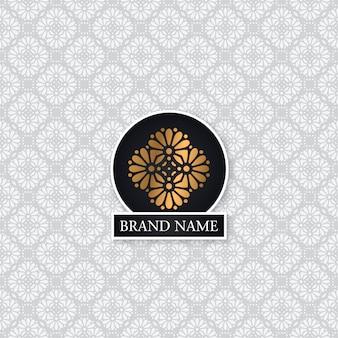Fundo de estilo indiano vintage