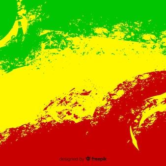 Fundo de estilo reggae