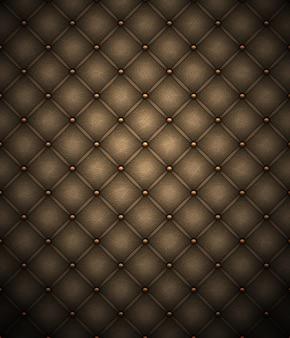 Fundo de estofos de couro marrom escuro