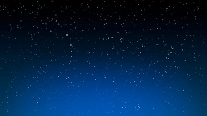 Fundo de estrelas do espaço. céu noturno.