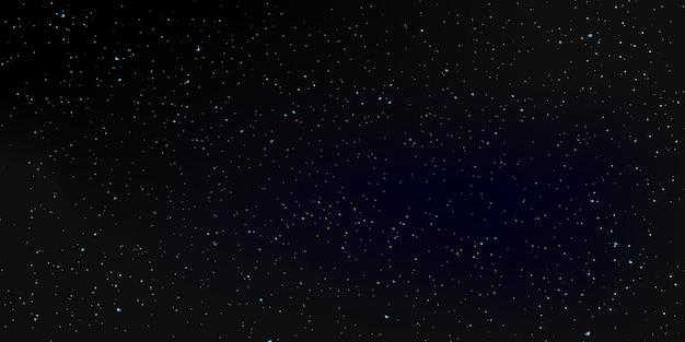 Fundo de estrelas do espaço. o céu noturno.