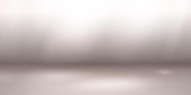 Fundo de estúdio vazio com iluminação suave em tons de cinza