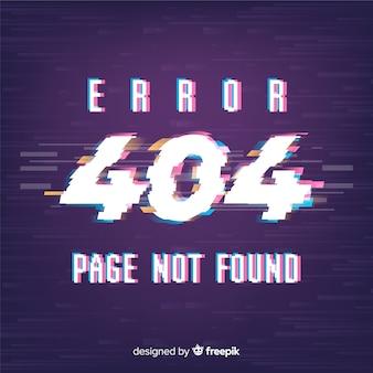 Fundo de falha de erro 404