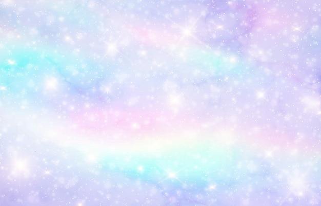 Fundo de fantasia de galáxia