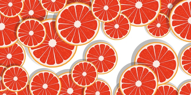 Fundo de fatias de laranja