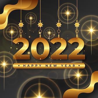 Fundo de feliz ano novo