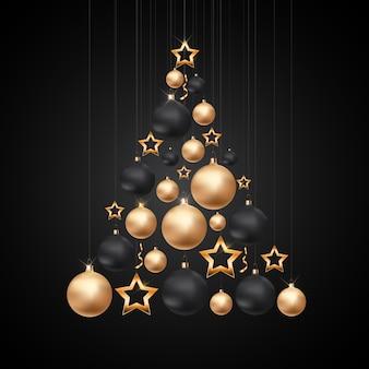 Fundo de feliz natal e ano novo