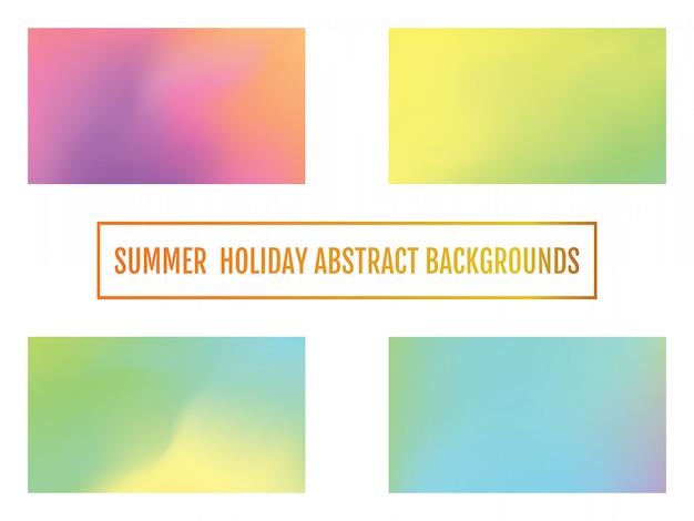 Fundo de férias de verão, abstrato