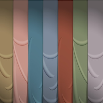 Fundo de fitas de seda