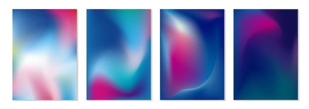 Fundo de fluxo de cor abstrata