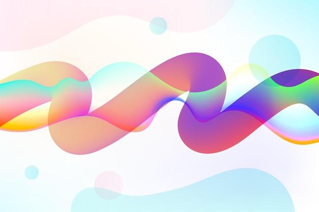 Fundo de fluxo de cores