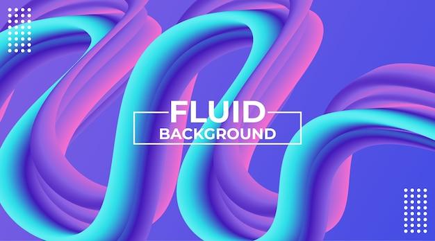 Fundo de fluxo dinâmico colorido abstrato moderno