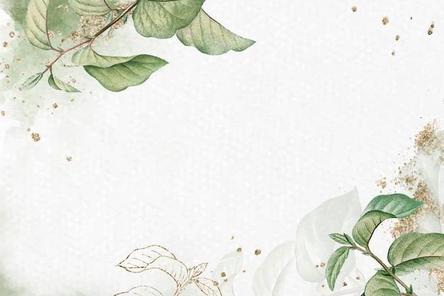 Fundo de folha de damasco de briançon