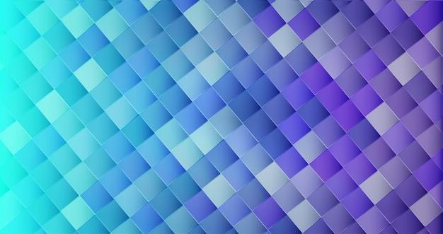 Fundo de forma geométrica 3d abstrato brilhante