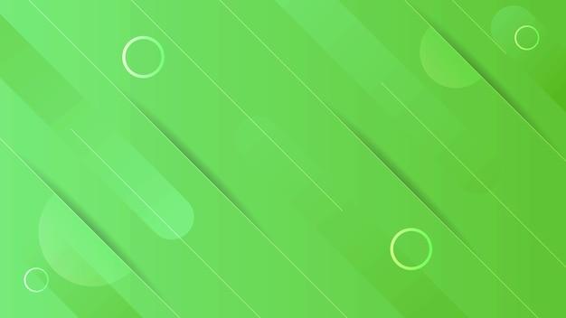Fundo de forma geométrica gradiente verde