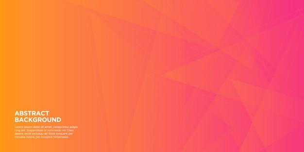 Fundo de forma geométrica gradiente