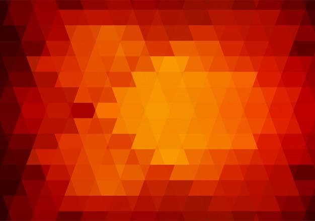 Fundo de formas abstratas triângulo colorido
