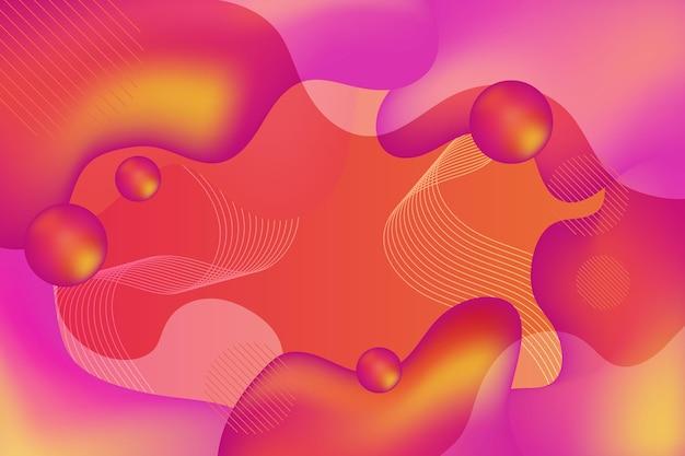 Fundo de formas geométricas abstratas