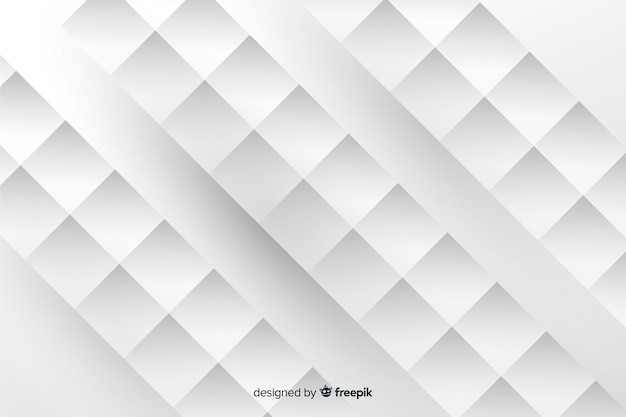 Fundo de formas geométricas de estilo de papel