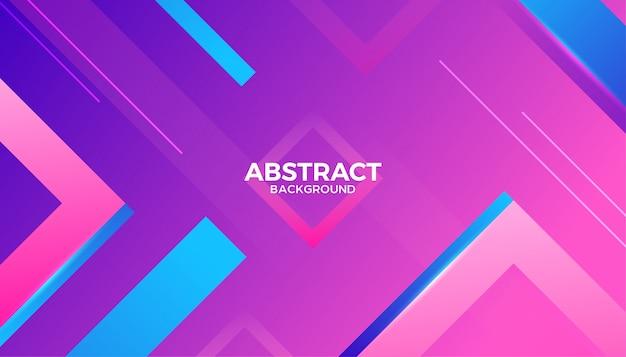 Fundo de formas geométricas gradiente abstrato dinâmico