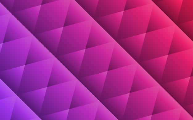 Fundo de formas geométricas roxas abstratas