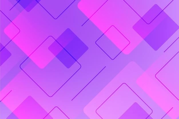 Fundo de formas geométricas vivas