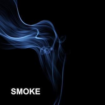 Fundo de fumaça abstrata de vetor.