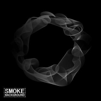 Fundo de fumaça abstrata do vetor.