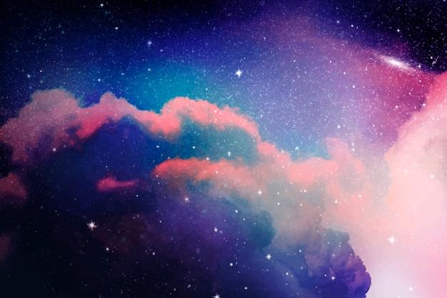 Fundo de galáxia espacial