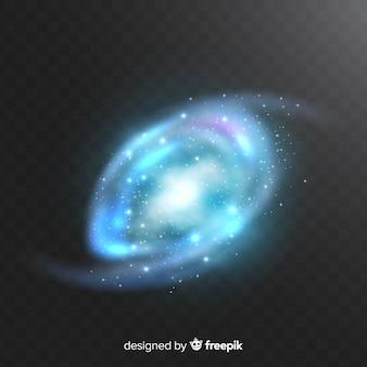 Fundo de galáxia espiral