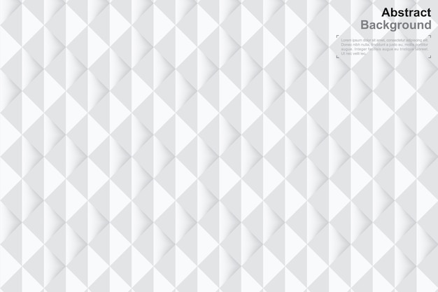 Fundo de geometria 3d em estilo de arte de papel. padrão mínimo.