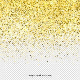 Fundo de glitter transparente